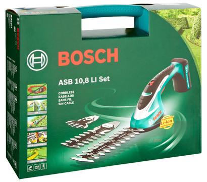 bosch asb 10 8 li akku strauch und grasscheren set dehner garten center. Black Bedroom Furniture Sets. Home Design Ideas