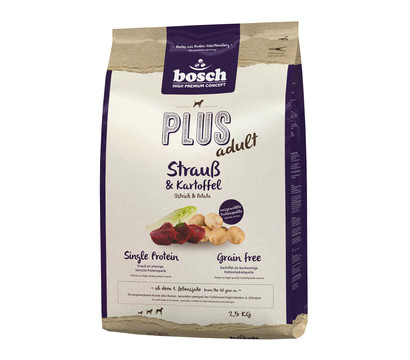 bosch Plus getreidefreies Trockenfutter, 1 kg