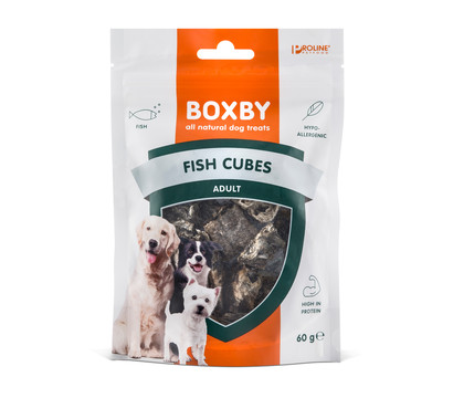 Boxby Hundesnack Fish Cubes Adult