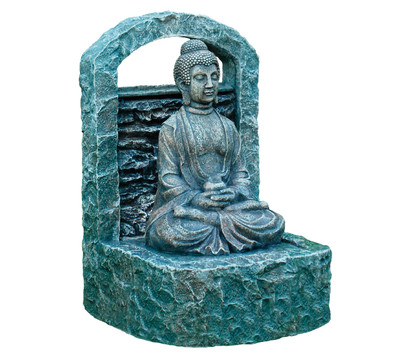 buddha brunnen 38 x 35 5 x 60 5 cm dehner garten center. Black Bedroom Furniture Sets. Home Design Ideas