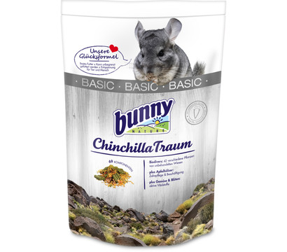 Bunny ChinchillaTraum BASIC, Chinchillafutter