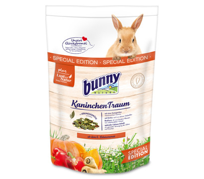 bunny® Kaninchenfutter KaninchenTraum SPECIAL EDITION, 1,5kg