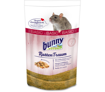 Bunny RattenTraum BASIC, Rattenfutter, 1,5 kg