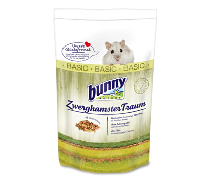 bunny® ZwerghamsterTraum BASIC, 600g
