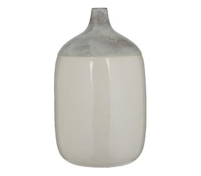 Casa Vivante Keramik Vase, Ø 21 x 36 cm, weiß