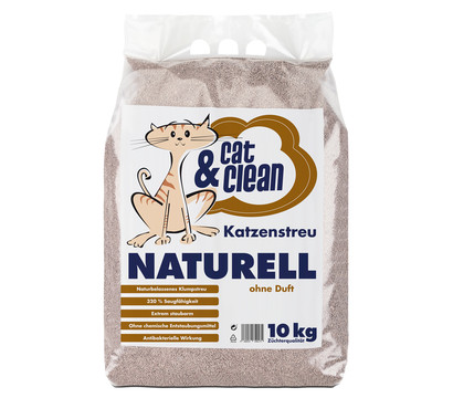 Cat & Clean Katzenstreu Naturell ohne Duft
