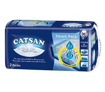 Catsan Katzenstreu Smart Pack, 2 Stück