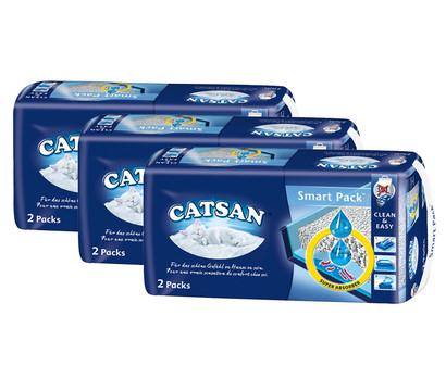 Catsan Katzenstreu Smart Pack, 3 x 2 Stück