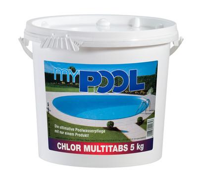 Chlor multitabs 5 kg dehner garten center for Garten pool chlor