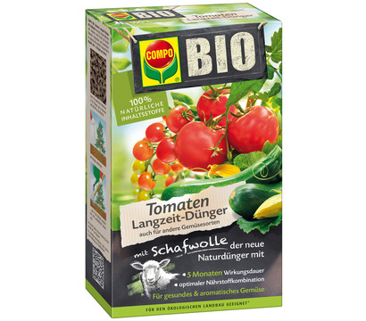compo bio tomaten langzeit d nger mit schafwolle 750 g dehner garten center. Black Bedroom Furniture Sets. Home Design Ideas