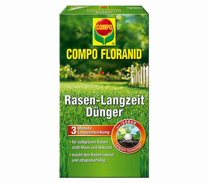 COMPO Floranid® Rasen-Langzeit-Dünger, 1,5 kg