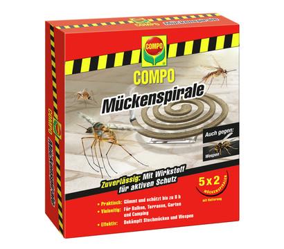 COMPO Mückenspirale, 5x 2 Stk.