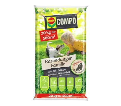 COMPO® Rasendünger Familie, 20 kg