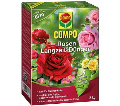COMPO Rosen Langzeit-Dünger, 2 kg