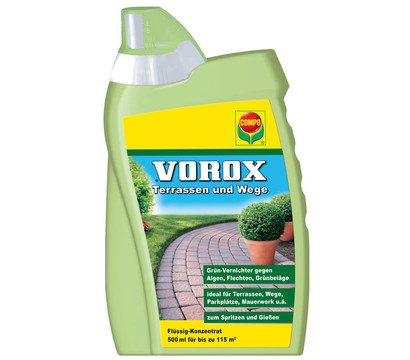 COMPO VOROX® Terrassen und Wege, 500 ml