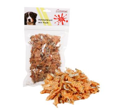 Corwex Hundesnack Hühnerbrust mit Fisch, 250g