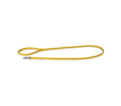 Das Lederband Hundeleine Style Barcelona Vibrant-Yellow