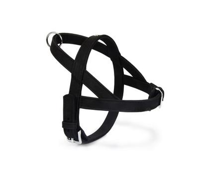 Das Lederband Norwegergeschirr Style Boston Schwarz