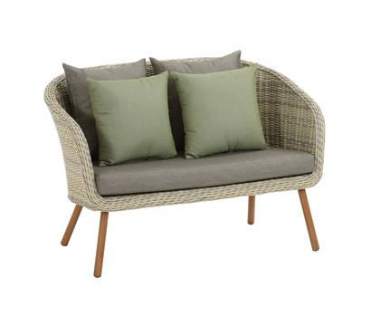 dehner 2 sitzer sofa antigua beige dehner garten center. Black Bedroom Furniture Sets. Home Design Ideas