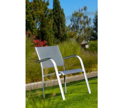 dehner alu stapelsessel dallas 88 x 60 x 60 cm dehner garten center. Black Bedroom Furniture Sets. Home Design Ideas