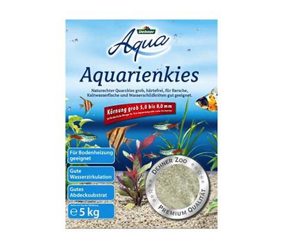 Dehner Aqua Aquarienkies, 5-8 mm, grau
