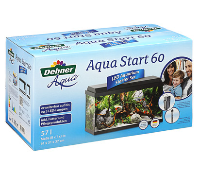 Dehner Aqua Aquarium-Set Aqua Start 60