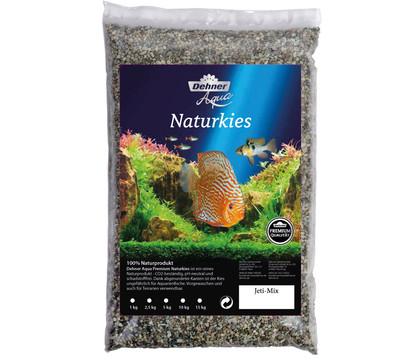 Dehner Aqua Premium Naturkies Jeti-Mix, 2-3 mm