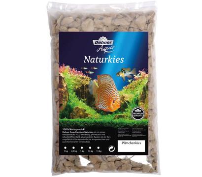 Dehner Aqua Premium Naturkies Plättchenkies, 8-16 mm