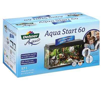 Dehner Aqua Start 60 LED Aquarium-Set