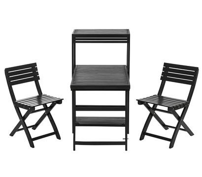 Dehner Balkon-Set 'Neapel', 3-teilig