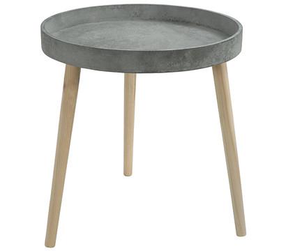 Dehner Beistelltisch mit Holz; 45 x 45 x 48 cm