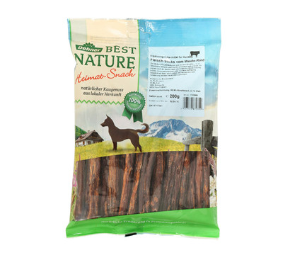 Dehner Best Nature Fleisch-Sticks vom Weide-Rind, 200 g