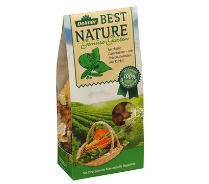 Dehner Best Nature Gemüse-Garten, Nagersnack, 125g