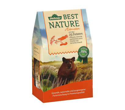 Dehner Best Nature Hamsterfutter, 500 g