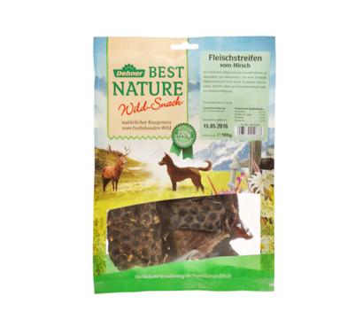 Dehner Best Nature Hirschfleischstreifen, 100 g