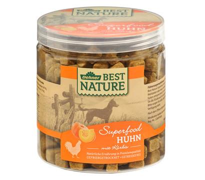 Dehner Best Nature Hundesnack Superfood Huhn mit Kürbis