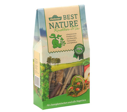 Dehner Best Nature Knabber-Mix, 90 g