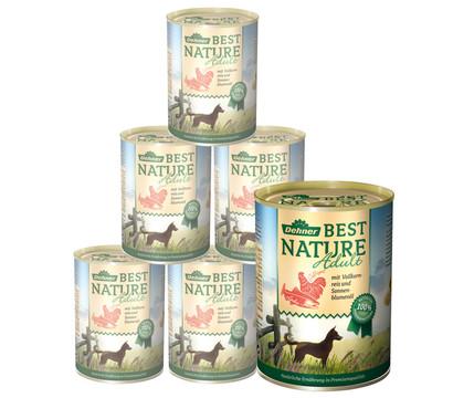 Dehner Best Nature Nassfutter Adult, 6x400 g/800 g