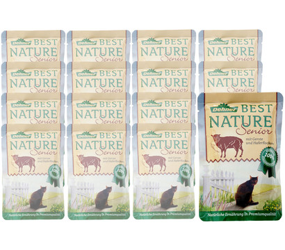Dehner Best Nature Nassfutter Senior, 16x85 g