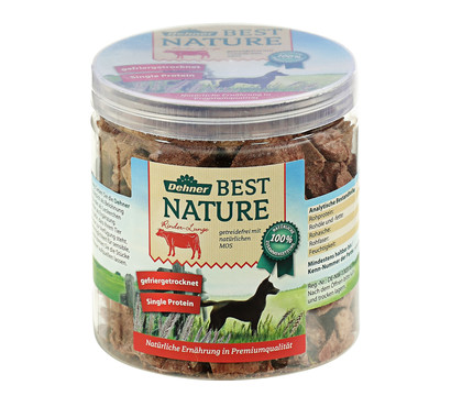 Dehner Best Nature Rinderlunge, 45 g