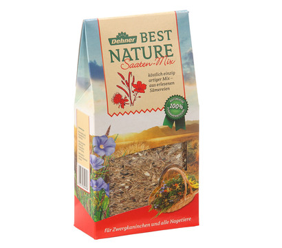 Dehner Best Nature Saaten-Mix, Nagersnack, 375g