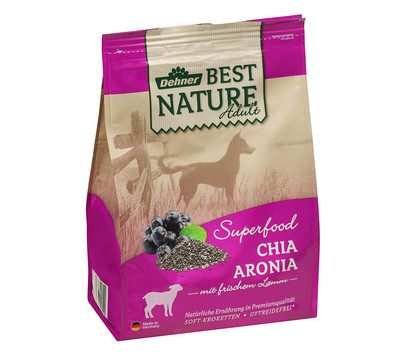 Dehner Best Nature Trockenfutter Adult Superfood Chia Aronia