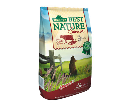 Dehner Best Nature Trockenfutter Senior