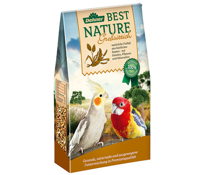Dehner Best Nature Vogelfutter für Großsittiche