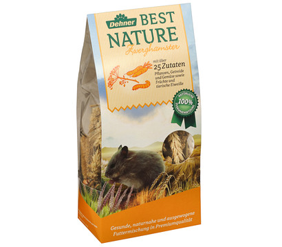 Dehner Best Nature Zwerghamsterfutter, 500 g