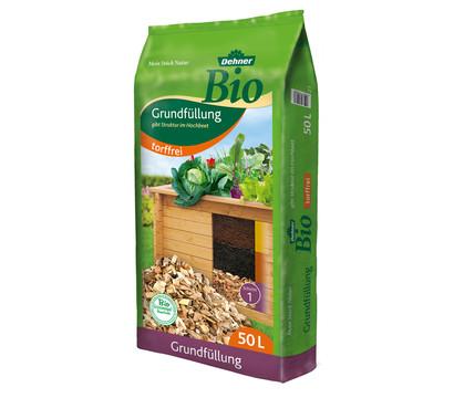 Dehner Bio Hochbeet-Grundfüllung, 50 Liter