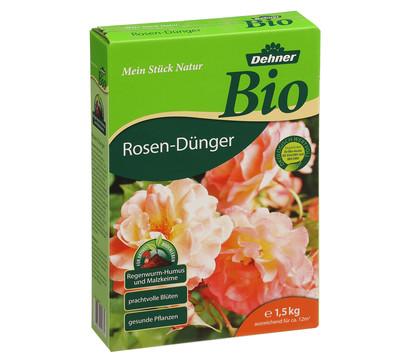 Dehner Bio Rosen-Dünger, 1,5 kg