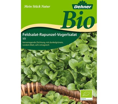 Dehner Bio Samen Feldsalat-Rapunzel-Vogerlsalat 'Vit'