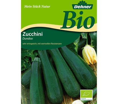 dehner bio samen zucchini 39 dundoo 39 dehner garten center. Black Bedroom Furniture Sets. Home Design Ideas