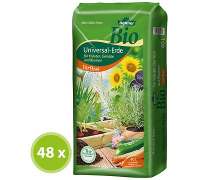 Dehner Bio Universal-Blumenerde, 48 x 40 Liter